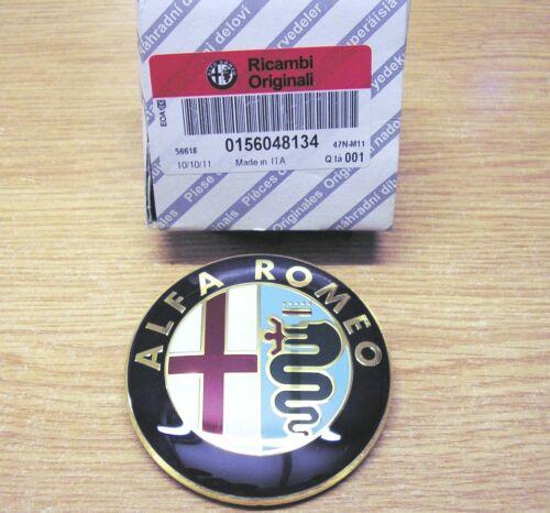GENUINE Alfa Romeo 147 156 GT  New Rear Boot Hatchback Badge Emblem 156048134