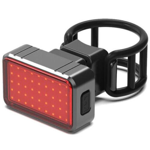 2pcs Intelligent Induction Brake Bicycle Taillights COB+28LED Light USB Charging