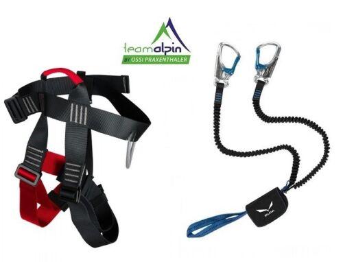 Klettersteigset Ohne Gurt : Klettersteigset salewa via ferrata premium attac lacd easy