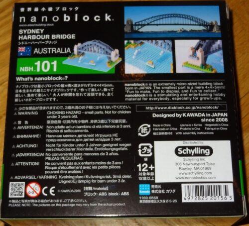 Sydney Harbour Bridge Nanoblock Micro-Sized Building Block Micro Construction