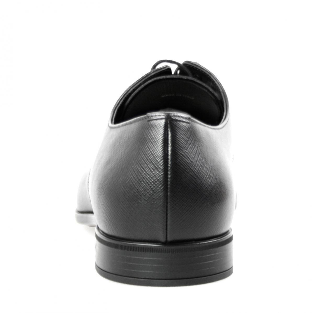 LUSSO autentici PRADA SAFFIANO SAFFIANO SAFFIANO Business Scarpe 2EC030 NERO NUOVE 10 44 44,5 dd9c4f