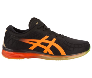 Asics GEL QUANTUM INFINITY Men's 1021A056.002 Black Shocking orangeRunning shoes
