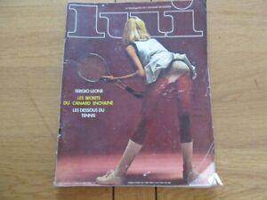 DéVoué Magazine Lui N° 101 1972 Avec Poster - Aslan Sergio Leone Design Professionnel