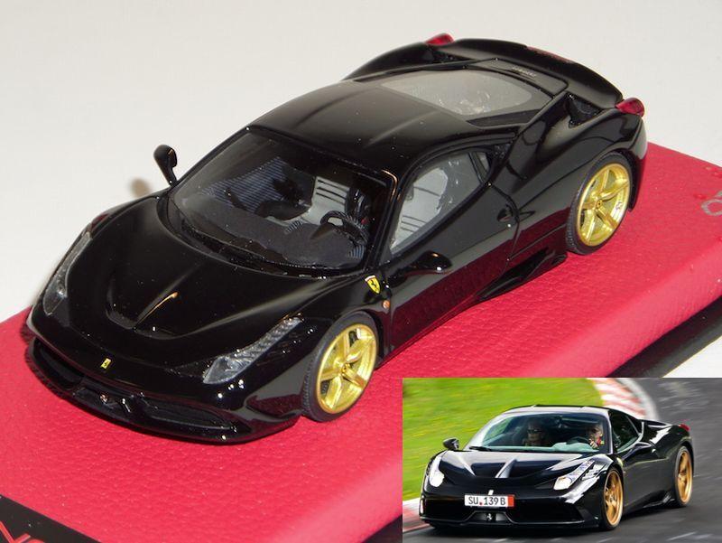 el señor Ferrari  Speciale Brillo Negro-Oro ruedas limitada a 8 piezas