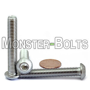 M8 x 16 Button head socket cap screws DIN 7380 Metric Pack of 10