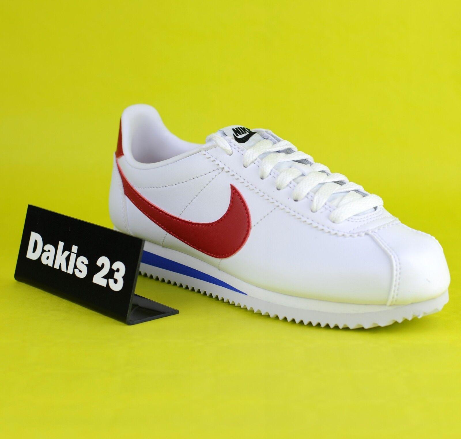 Nike WNS Classic  Cortez Leather donna Lifestyle scarpe da ginnastica New bianca 80771 -103  prezzi bassi