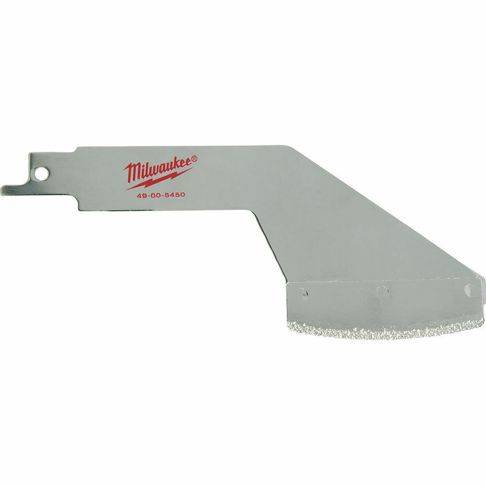 Milwaukee RECIPROCATING SAW GROUT REMOVAL TOOL Coarse Carbide Grit USA Brand