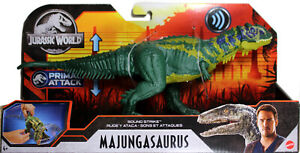 Jurassic-World-SOUND-amp-STRIKE-MAJUNGASAURUS-ACTION-FIGURE-Primal-Attack