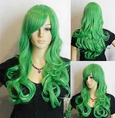 Hot!33 inch Heat Resistant ALL COLOR Curly Wavy Long Cosplay Wigs 08NC#