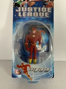 Justice-League-The-Flash-Figure-Mattel-2003-Action-Figure-DC-Collectible-Toy