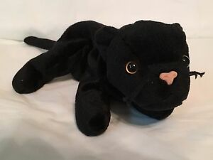 TY Beanie Baby - VELVET Black Panther-Pristine w Mint Tags-PE ... 4124df336540