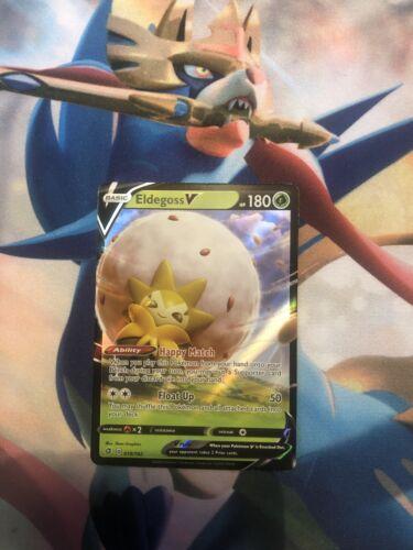 Eldegoss V 019//192 Sword /& Shield Rebel Clash Ultra Rare Pokemon Card Mint