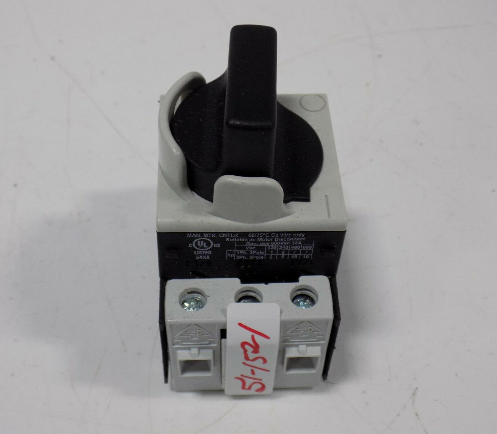 Baco 172100 Disconnect Switch 32a 600vac Ebay 10pcs Reed Switches Magic Induction No Nc Spdt