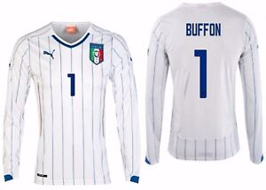 9eb8b13c76e PUMA GIANLUIGI BUFFON ITALY LONG SLEEVE AWAY JERSEY FIFA WORLD CUP ...