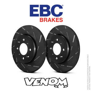 EBC USR Front Brake Discs 308mm for Vauxhall Astra Mk4 Coupe G 2.0 Turbo 00-05
