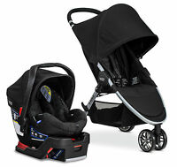 Britax B-agile 3 Stroller & B-safe 35 Car Seat Travel System Black