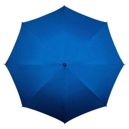 blau IMPLIVA XXL 130 CM Damen Schirm Stockschirm Regenschirm Umbrella