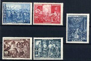 Sellos-de-Espana-1939-Beneficencia-SH-34-Nuevos-sin-charnela-stamps