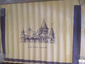Vintage-Disneyland-Snow-White-039-s-Adventure-Blue-Print-Copy-of-the-Front-Area