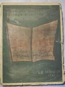 D-LAMBRASSA-G-VECCHIETTI-SAPER-LEGGERE-ANTOLOGIA-PER-SCUOLA-MEDIA-1944-cc33