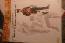 Guida Francese Napoleonico Chasseurs uniforme 28mm 25mm 15mm 1/72 Osprey NA a WAR#9