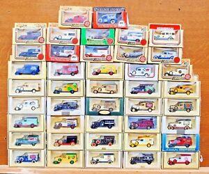 Lledo-Diecast-modelos-decada-de-1930-Packard-Vans-Desde-1-99-elegir-de-la-lista-de-LOT18