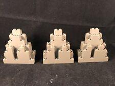 Lego 6083 2 Tan Rock Panels GMT17 3x8x7 Studs
