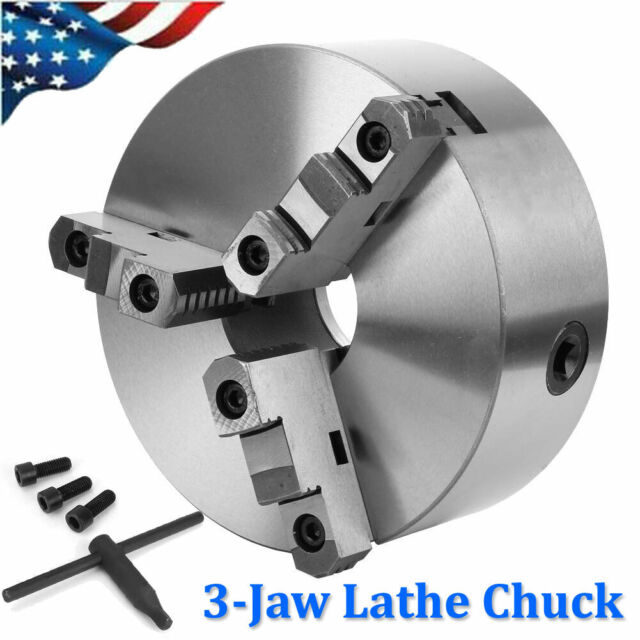 "New Self-Centering Lathe Chuck 3-Jaw 4/"" inch for Milling K11-100A Hardened Steel"