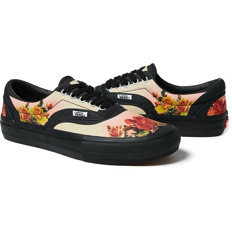 Supreme® Vans® Jean Paul Gaultier® Floral Print Era Pro US 8.5 in hand designer