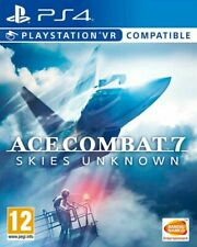 Ace Combat 7 Skies Unknown PS4 * NEW SEALED PAL *