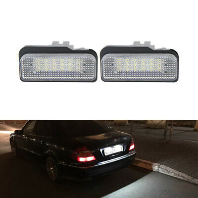 Fits Mercedes E-Class W211 E 280 White 6-SMD LED 39mm Festoon Number Plate Bulbs