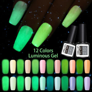 LEMOOC-Leuchtend-8ml-Nagel-Gellack-Luminous-Gel-Nail-Polish-Soak-Off-UV-Gel