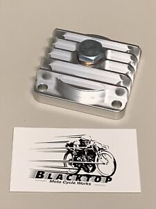 BSA-Finned-Billet-Sump-Plate-with-Magnetic-Drain-Plug-A7-A10-A65-Express-Post