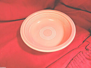 Pink-Fiesta-Nappy-Bowl-7-inxh-W-Signed-Mint-Post-1982-HLC