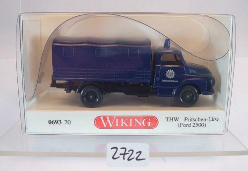 Wiking 1//87 nº 0693 20 ford 2500 tablillas-camión THW OVP #2722