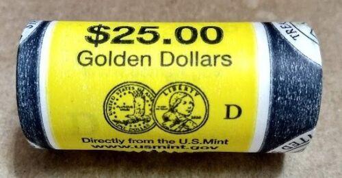 "2000 D Sacagawea Native American /""Unopened/"" U.S Mint Dollar 25 Coin ROLL"