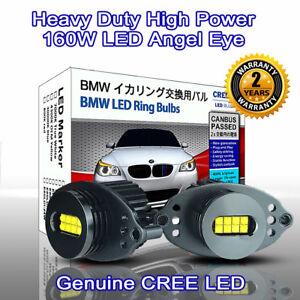 160W-Heavy-Duty-High-Power-BMW-E90-LCI-E91-LCI-CREE-LED-Angel-Eyes-7000K-White