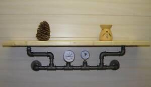 Designregal-Industrieregal-Steampunk-pipe-shelf-Wandboard-Naturholz