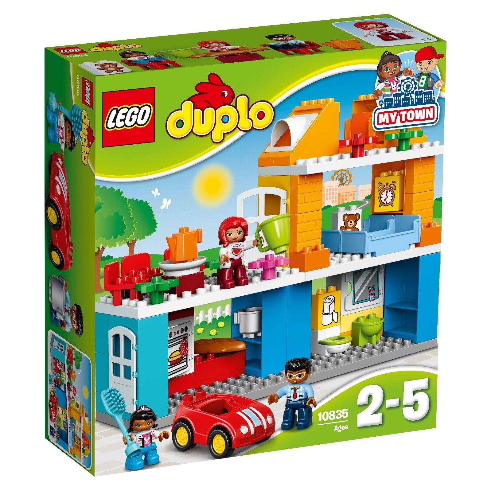LEGO ® DUPLO ® 10835 maison familiale Nouveau neuf dans sa boîte _ Family House New En parfait état, dans sa boîte scellée Boîte d'origine jamais ouverte