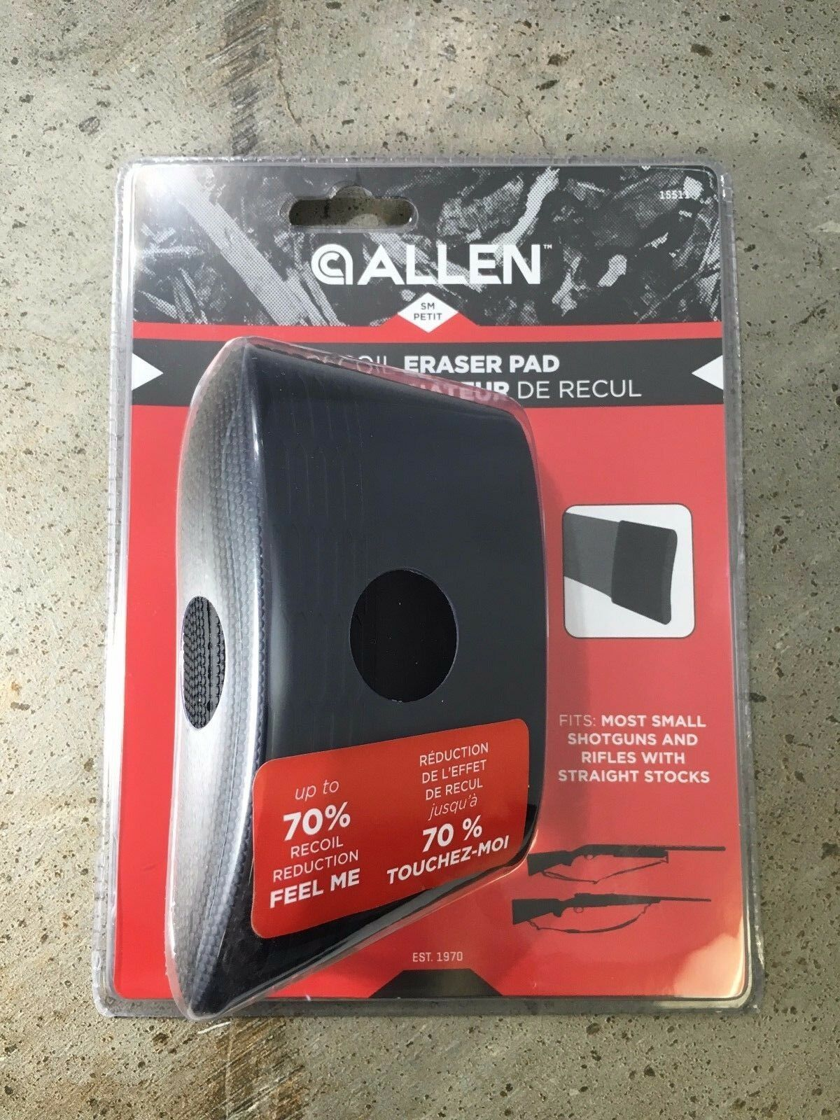 Allen Recoil Eraser Recoil Reducing Pad Small NEW FREE SHIPPING