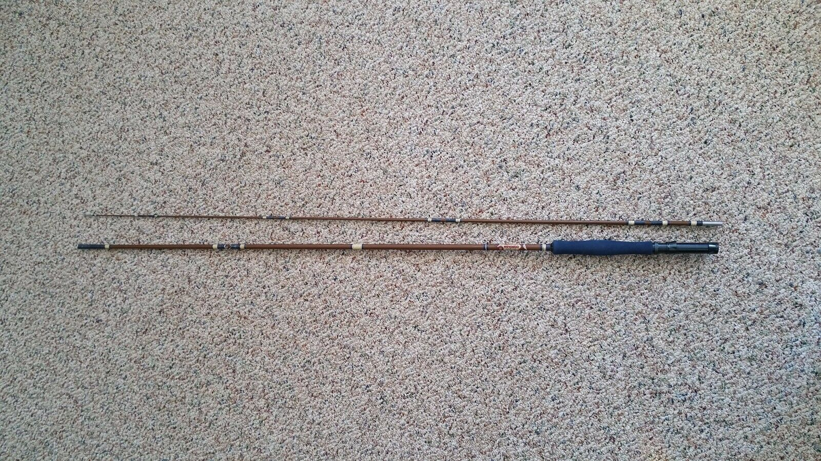 GARCIA CONOLON 8' FLY FISHING ROD VINTAGE  RARE  reasonable price