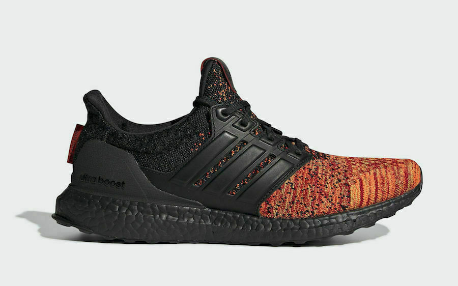huge discount 6647e 804d1 Adidas Ultra Boost Game of Thrones House Targaryen Dragons Sizes 4-5.5  EE3709