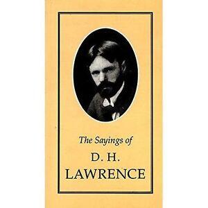 Sayings-of-D-H-Lawrence-Duckworth-Sayings-Series