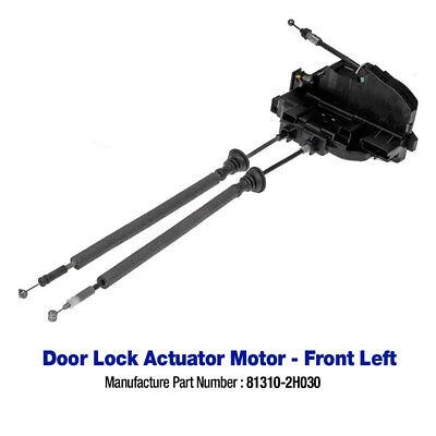 Genuine OEM Hyundai Elantra 07-10 Door Lock Actuator Front LH 81310-2H030