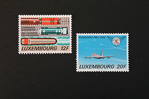 Briefmarken / Briefmarke Luxemburg Yvert und n tellier°1144 à 1145 NSG (cyn10)