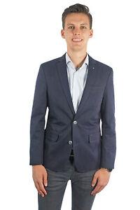 PME Legend Herren Sakko Einreiher zweiknopf Jackett Blazer Anzug Klassisch Blau