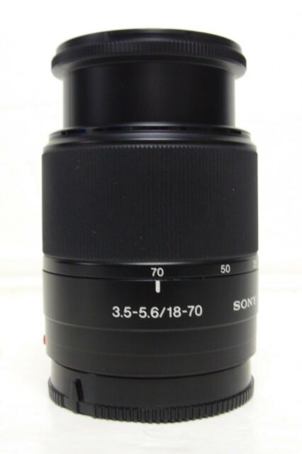 Sony DT 18-70mm Lente per F3.5-5.6 Alpha Sony un Mount IE Sony A77 A700 Etc A58