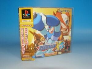 Usado-PS1-PS-PlayStation-1-Rockman-X5
