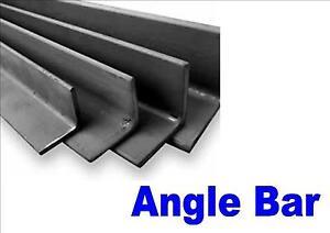 3mm mild steel angle bar black 20mm x 20mm you choose thickness / quantity