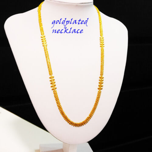 long ladies party wedding events necklace X2 goldplated chain,necklace